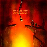 Outtakes VII: GLaDOS 'n LOTR by lia-a-eastwood