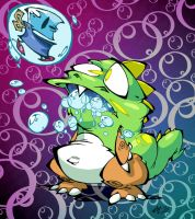 Bubble Bobble by BrendanCorris