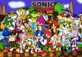 Sonic Group Picture by Tails19950