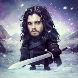 John Snow by Sephiroth-Art