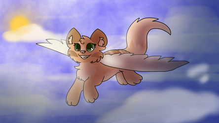 Fly High by MinoesTheKitty