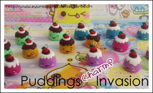 Puddings Charms Invasion by AyumiDesign