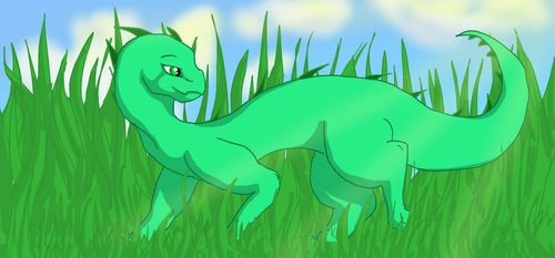 Spring Grass by SushiMushrooms