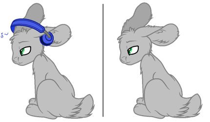 Base 150: By myself bunny by MADZbases
