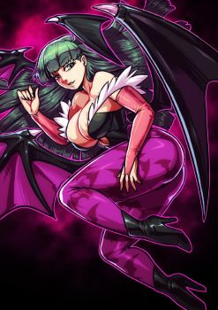 Morrigan by KoiDrake
