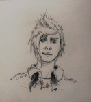 Nervous Prompto by Hewison