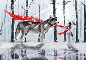 Contest - Wolf and Wolf Girl by ParsueChoi