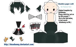 papercraft template by Arashi-Penguin