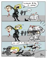 Wolfenstein II: The New Colossus, doodles 8 by Ayej