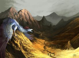 Valley of the Brood Mother II by AlectorFencer