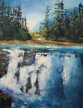 Athabasca Glory by artistwilder