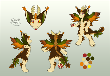 Ceian The Dutch Angel Dragon by RogueOfAmegakure
