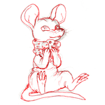 Hairless mouse doodle by Houkou-NRL