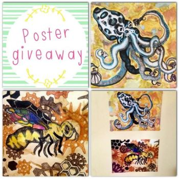 Poster Giveaway by Malice-InWonderland