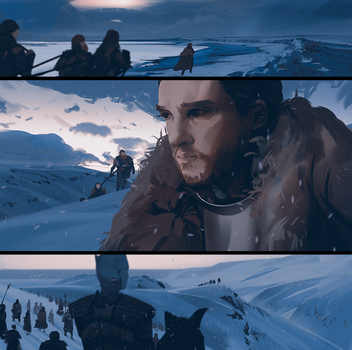 Beyond the wall by snatti89