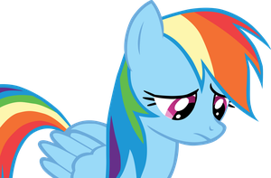 Sad Rainbow Dash is sad by DabuXian