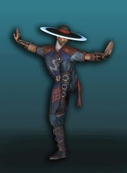 MKX Kung Lao Primary by UndeadMentor