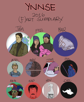 2016 (f)art summary by ynnse