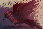 A Raven by Reysaurus