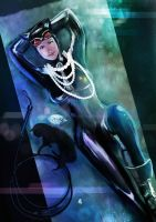 Catwoman by ellinsworth