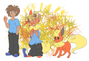 Other fire dog (Flareon TF Sequence) by Koldkettle23