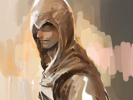Assassin's Creed - Altair by nonamezai