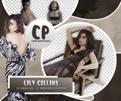 Png Pack 517 // Lily Collins by confidentpngs