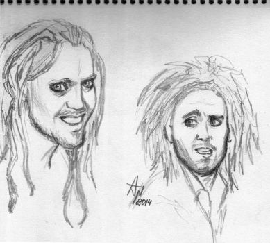Tim Minchin by SistersMinlivi