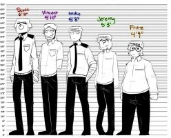 Height chart by Ask-the-fnaf-NG