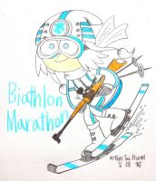Biathlon Marathon by komi114