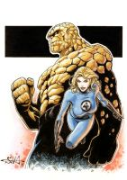 Fantastic Four by Killersha