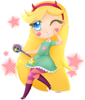Star Butterfly by Chi-nna