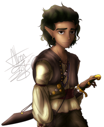 Wood Elf Dungeons and Dragons by Tyl95