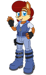 Zeiram - Sally Civilian Outfit by Chris000