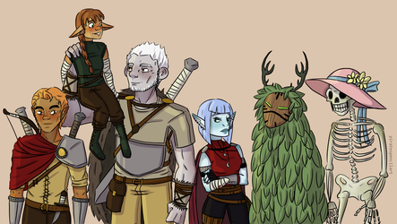 Dungeons and Dragons by KK-sis