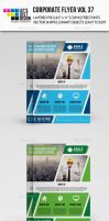 Corporate Flyer Template Vol 37 by jasonmendes