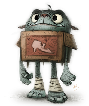 Day 699. #boxtrolls @Sketch_Dailies by Cryptid-Creations
