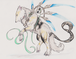 Blackwolfraptor: Shushienae by MagicallyCapricious