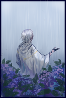 [TKRB69min] rain vs flower by HiiragiAzayaka
