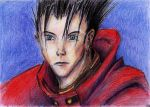 Vash Sketch by JasperK-StoneKing