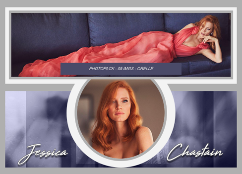 PhotoPack #037 - Jessica Chastain by orellem