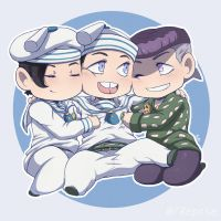 JJBA - Tiny Jojolion Boys by 7Repose