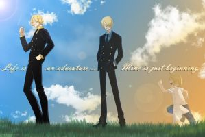 Life is an adventure by multieleonora96