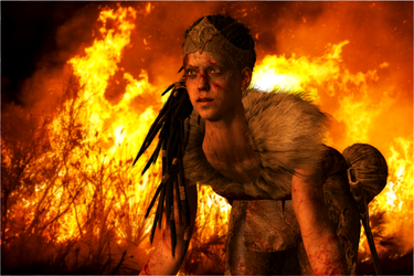 Hellblade - Tortured by Fire by jagged66