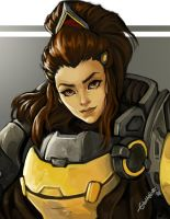 Brigitte by halibearish