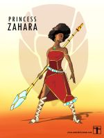 Spider Stories - Princess Zahara by CentralCityTower