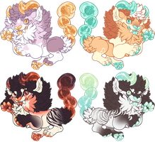 Mini Manticores - CLOSED by OmegaAdopts