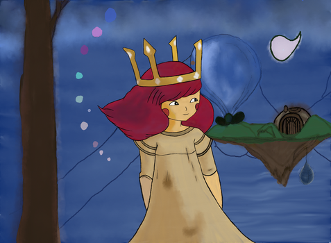 child of light water color wallpaper :D by Jenilea01