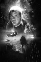 Blade Runner sketch by IgnacioRC