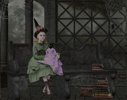 Little Witch And Doll by MMSmith1777